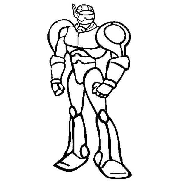 Mister Robot Coloring Pages | Best Place to Color
