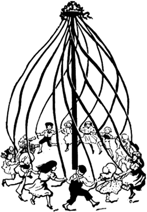 free may day coloring pages - photo#29