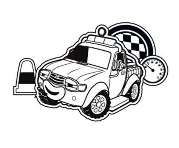 Roary the Racing Car, : Plugger AKA Lugga 4x4 Off Road Vehicle in Roary the Racing Car Coloring Pages