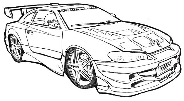 racing camaro cars coloring pages