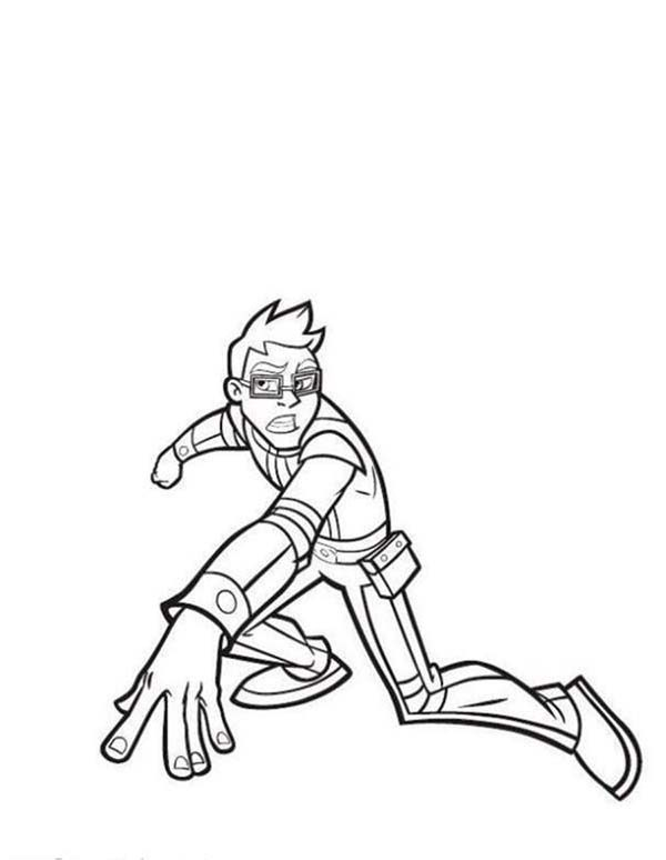Rox, : Rick in Action in Rox Coloring Pages