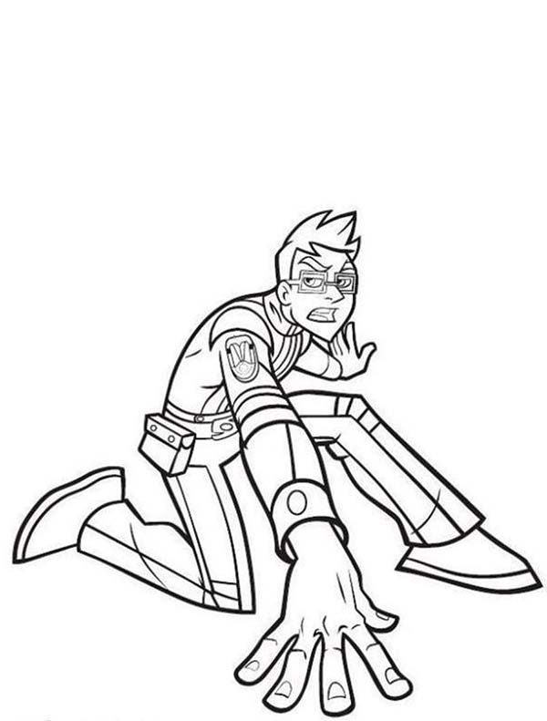 Rox, : Rick on His Knee in Rox Coloring Pages