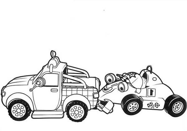 Roary the Racing Car, : Roary the Racing Car Coloring Pages (6)