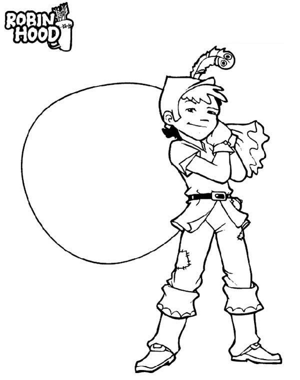 Robin Hood, : Robin Hood the Prince of Thief Coloring Pages