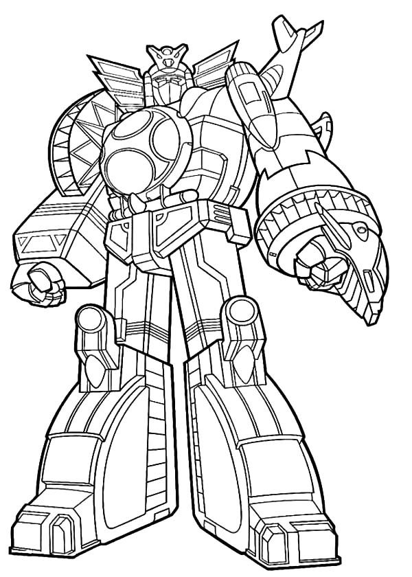 Robots, : Robot Gundam Coloring Pages
