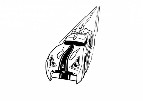 Rox, : Rox Speeding Coloring Pages