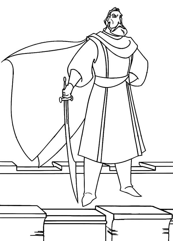 Sinbad the Sailor, : Sinbad the Legend of the Seven Seas Coloring Pages
