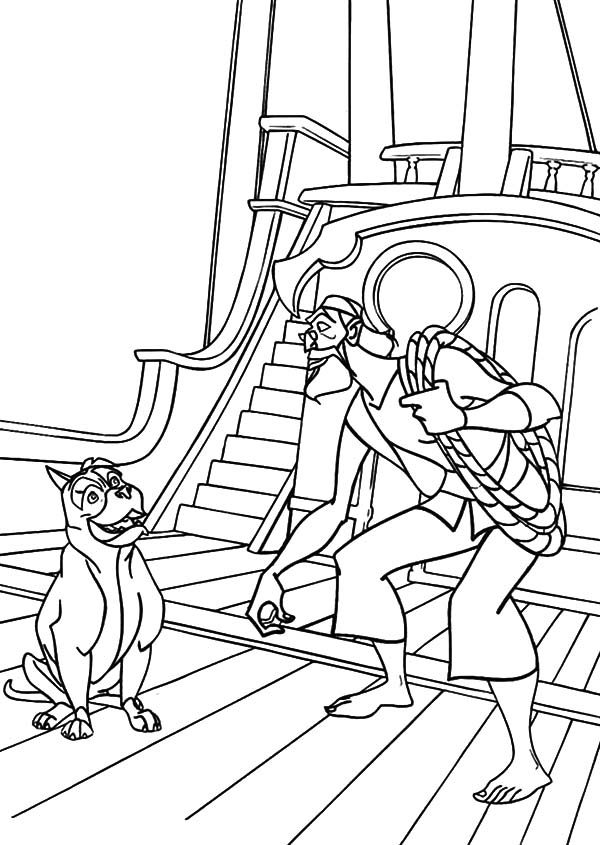 Sinbad the Sailor, : Sinbad the Sailor the Movie Coloring Pages