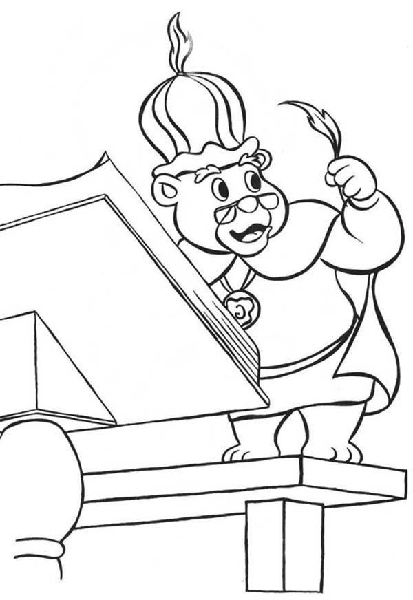 Robin Hood, : Tale of Robin Hood Coloring Pages