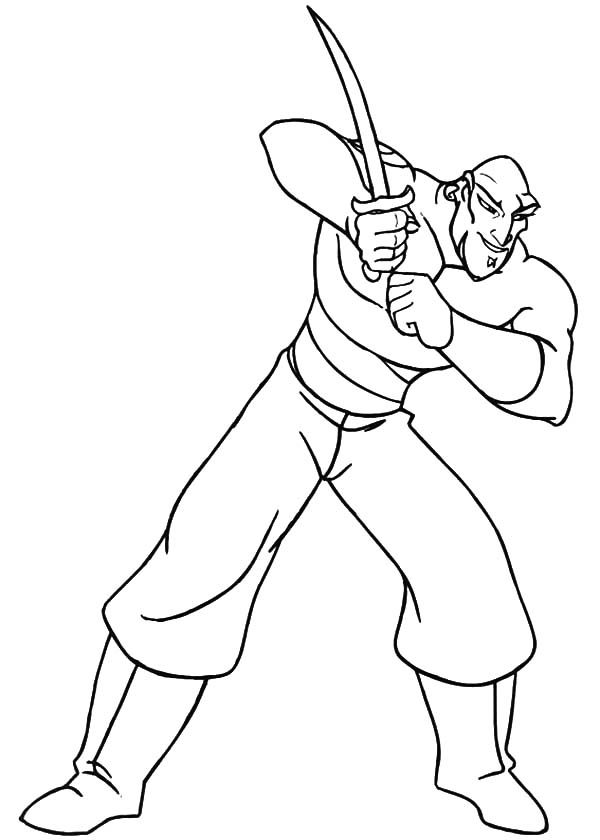 Sinbad the Sailor, : The Book of One Thousand and One Night Sinbad the Sailor Coloring Pages
