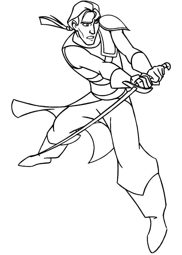 Sinbad the Sailor, : The Voyage of Sinbad the Sailor Coloring Pages