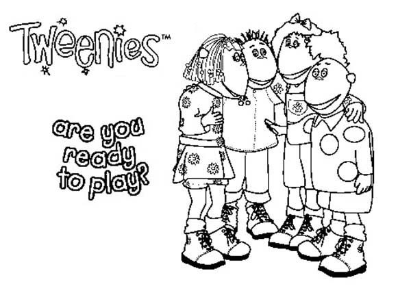 Tweenies, : Arae You Ready to Play Tweenies Coloring Pages