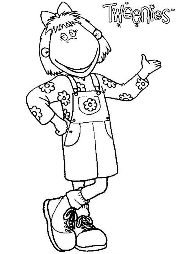 Tweenies, : Bella Tweenies Coloring Pages