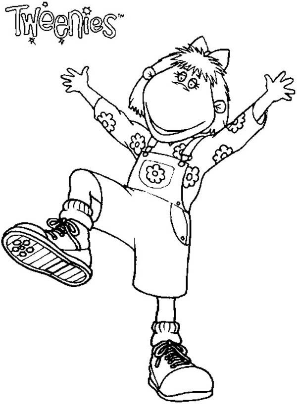 Tweenies, : Bella Tweenies New Shoes Coloring Pages