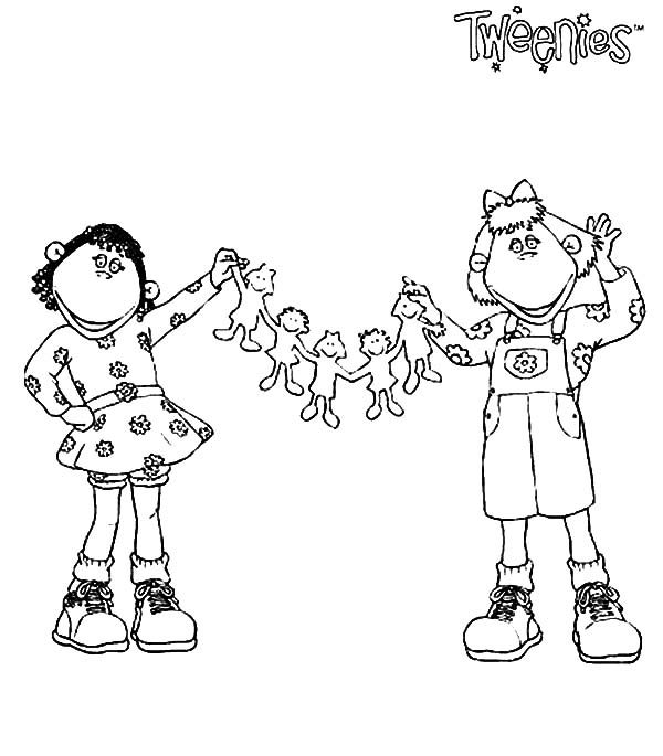 Tweenies, : Bella and Fizz Tweenies Coloring Pages