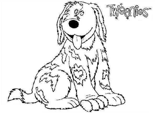 Doodles Tweenies Coloring Pages