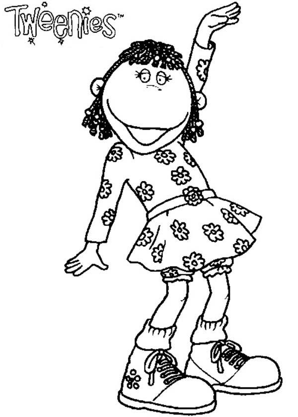 Tweenies, : Fizz Tweenies Coloring Pages