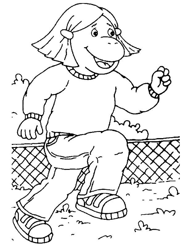 Tweenies, : Fizz Tweenies Training Time Coloring Pages