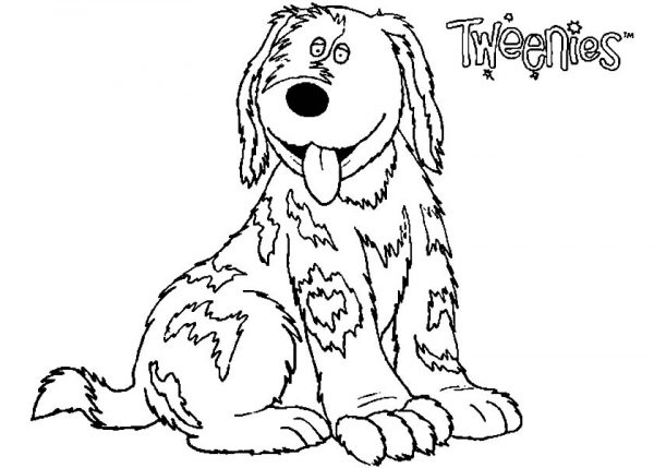 Tweenies, : Happy Doodles Tweenies Coloring Pages