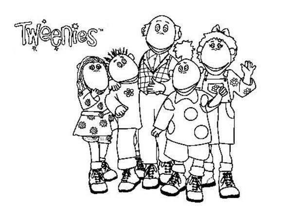 Tweenies, : How to Draw Tweenies Coloring Pages