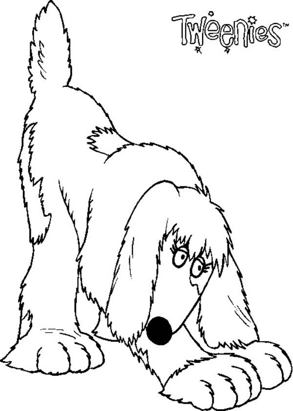 izzles tweenies stretching her body coloring pages izzles