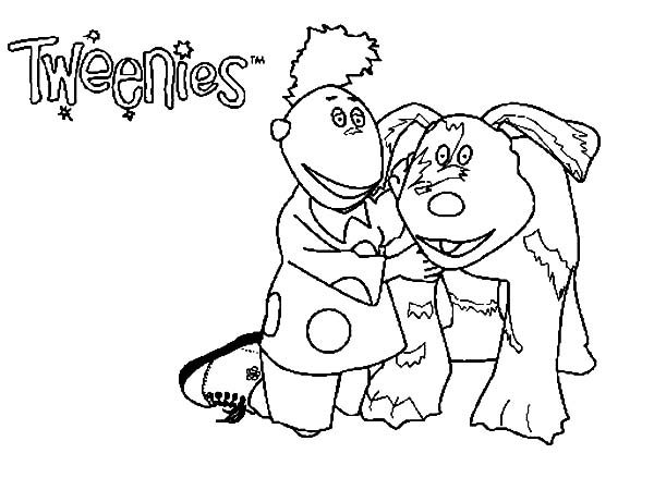 Tweenies, : Jake Tweenies Take Care Doodles Coloring Pages