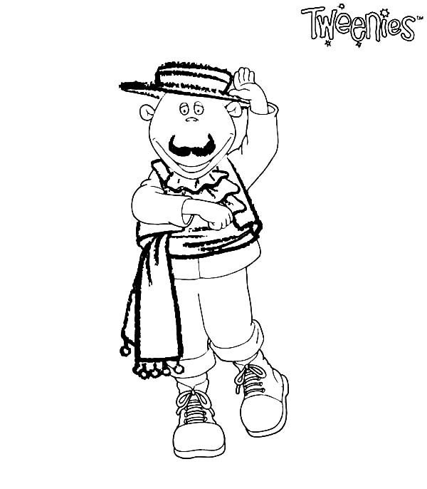 Tweenies, : Milo Tweenies the Torero Coloring Pages