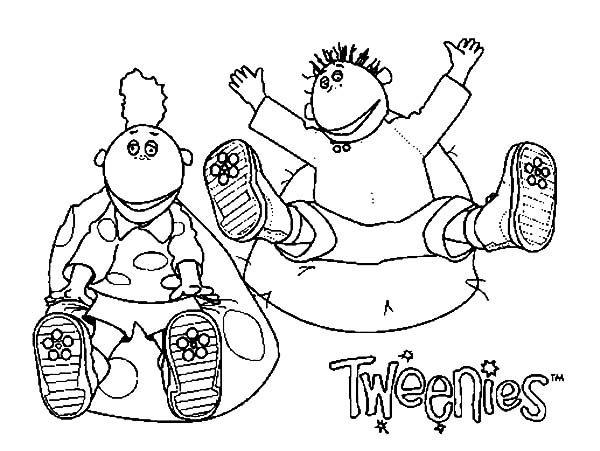 Tweenies, : Milo and Jake Tweenies Coloring Pages