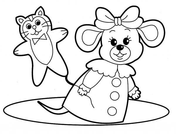 Toys, : Toys for Babies Coloring Pages