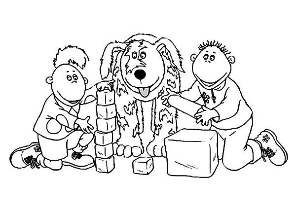 Tweenies, : Tweenies Learning about Shape Coloring Pages