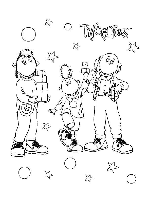 Tweenies, : Tweenies Show Coloring Pages