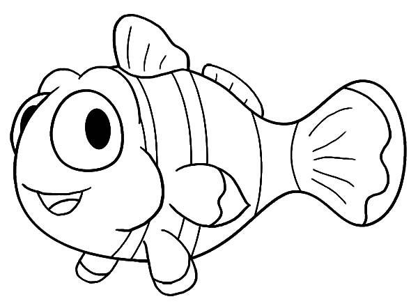 Free Clownfish Coloring Pages Clown Fish Coloring Pages