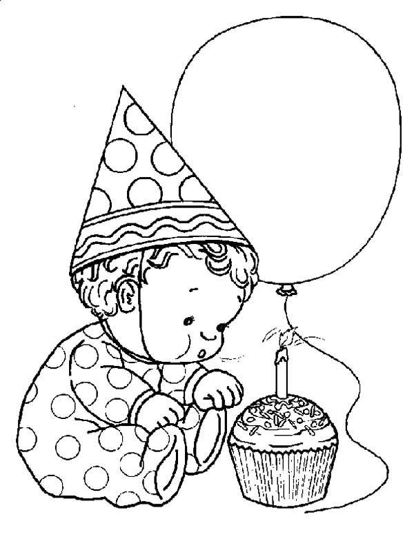 Birthday Boy, : Birthday Boy Coloring Pages