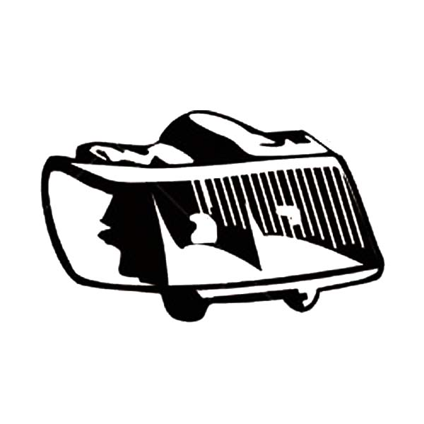 Car Parts, : Car Parts Head Light Coloring Pages