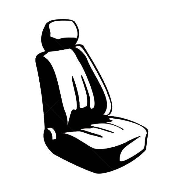 Car Parts, : Car Parts Seat Coloring Pages