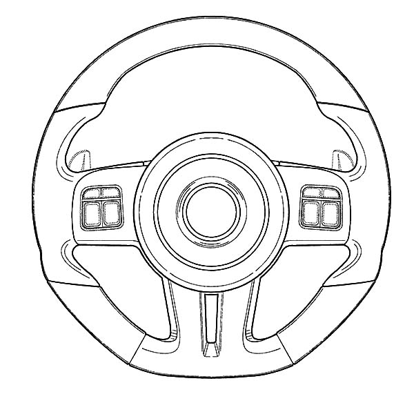 car parts radioator coloring pages  car parts radioator