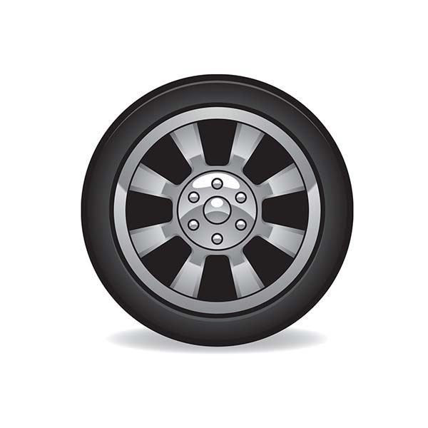 Car Tire, : Car Tire Image Coloring Pages