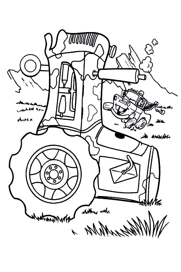 Car Tire, : Car Tire Turning Upside Down Coloring Pages
