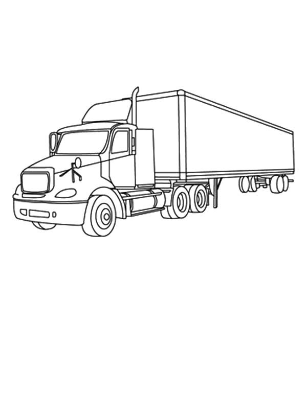 Car Transporter, : Car Transporter Coloring Pages