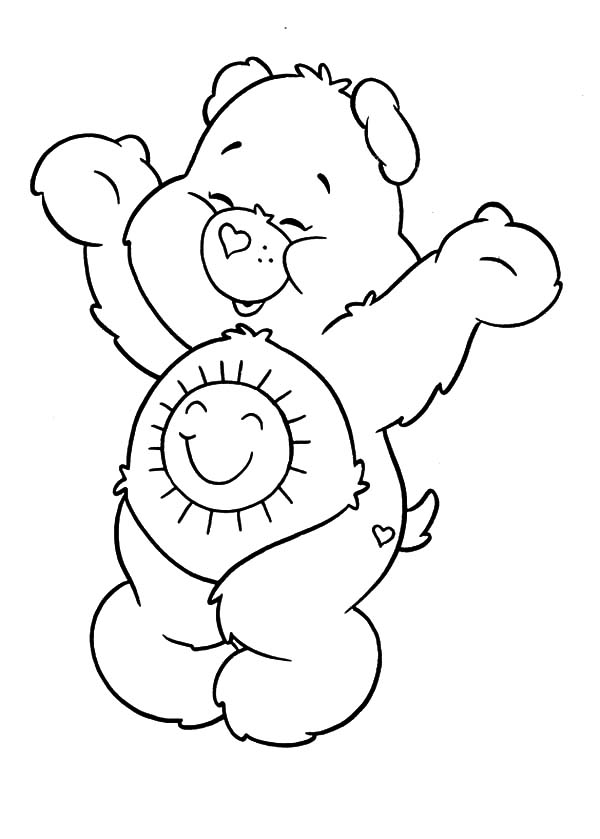 Care, : Care Bears Coloring Pages