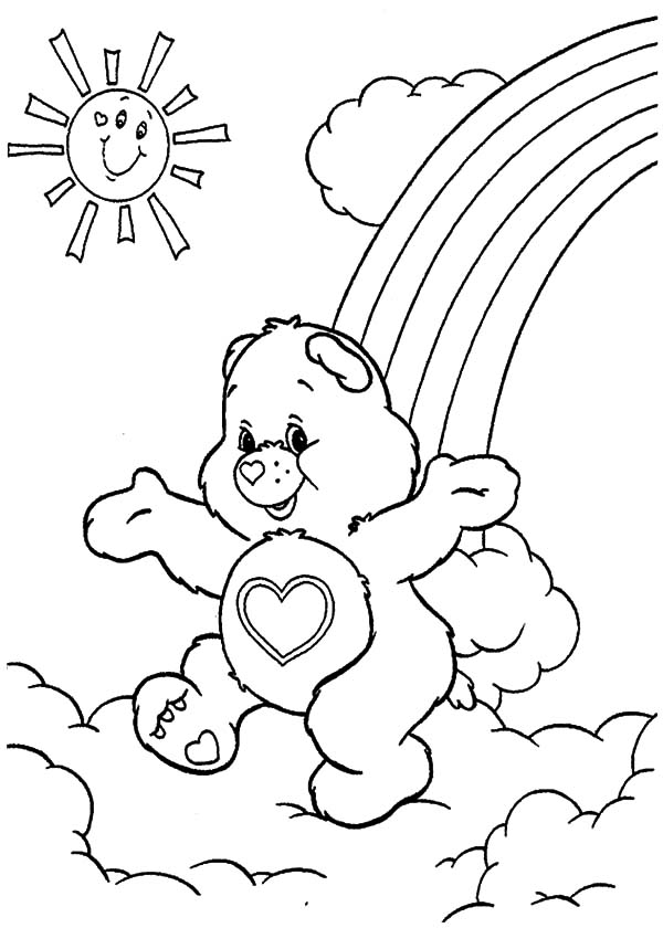 care bears stack of ice cream coloring pages best place to color. Black Bedroom Furniture Sets. Home Design Ideas