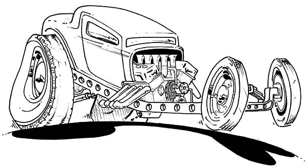 Chevy Cars, : Chevy Cars Setback Coloring Pages