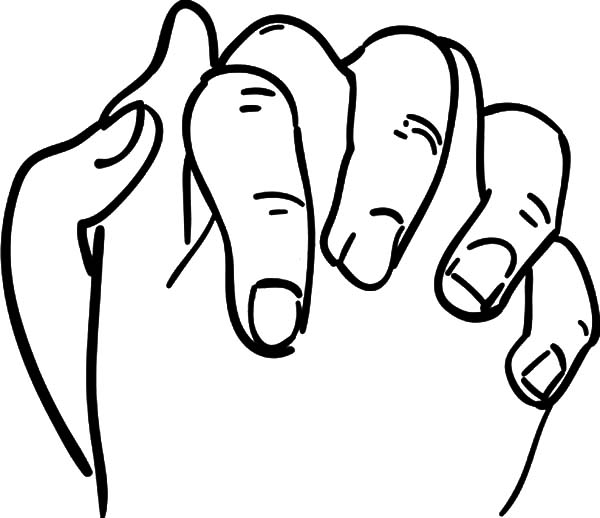 Hands, : Christian Praying Hands Coloring Pages