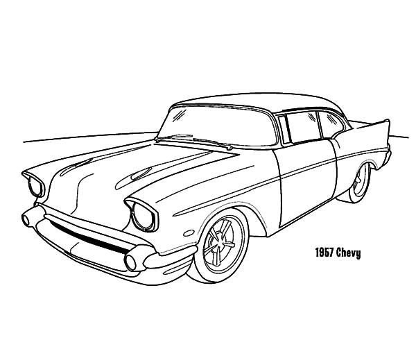 chevy car coloring pages - photo#19