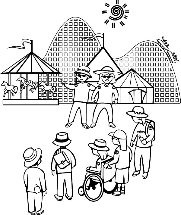 Carnival, : Come to Carnival Coloring Pages