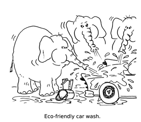 coloring pages for eco friendly - photo#5
