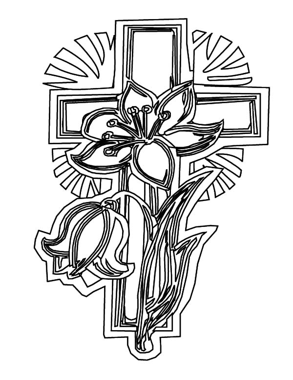 coloring pages of tattoo crosses | Amazing Celtic Cross Coloring Pages: Amazing Celtic Cross ...