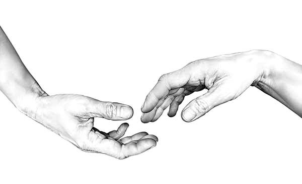 Hands, : Giving Hands Coloring Pages