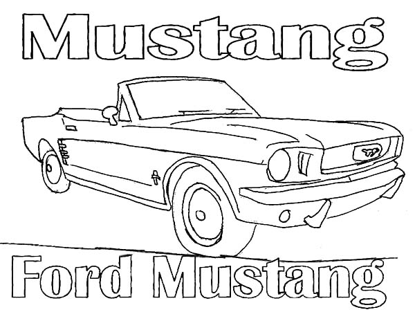 1966 ford coloring pages. Black Bedroom Furniture Sets. Home Design Ideas