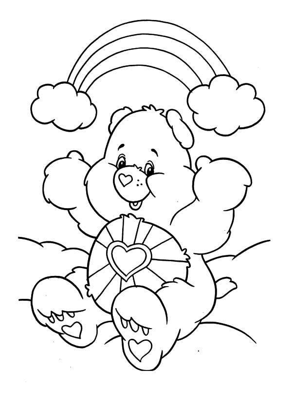 Care, : How to Draw Care Bears Coloring Pages